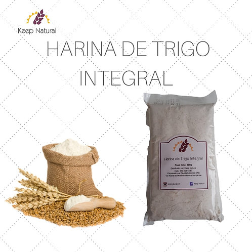 Harina de trigo Integral 500gr