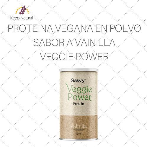 Proteina Savvy Veggie Vainilla 560gr