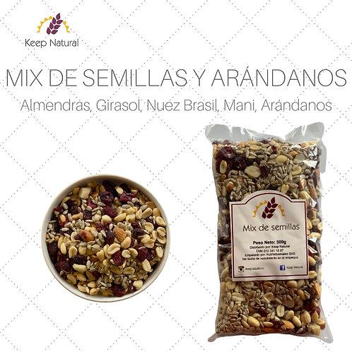 Mix de Semillas con Arándanos (500gr)