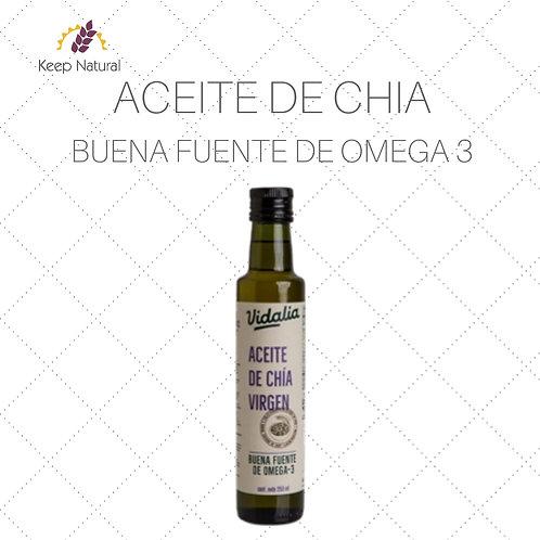 Aceite de Chia Virgen Vidalia 250ml