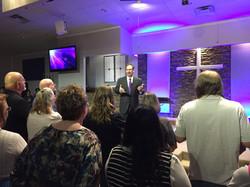 Ty Barker Preaching at Tascosa Road Fellowship at Alter 2