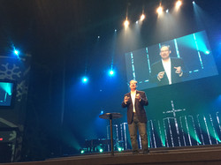 Ty Barker preaching at VCC