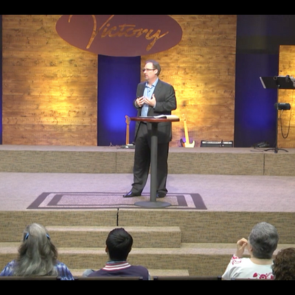 Ty Barker Preaching at Victory Austin
