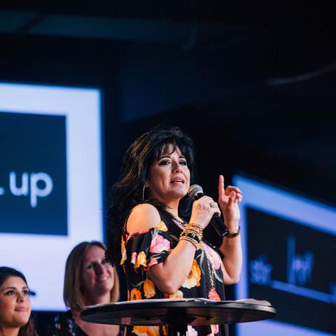 Debbie Barker Speaking at Victory Ladies Encounter Night