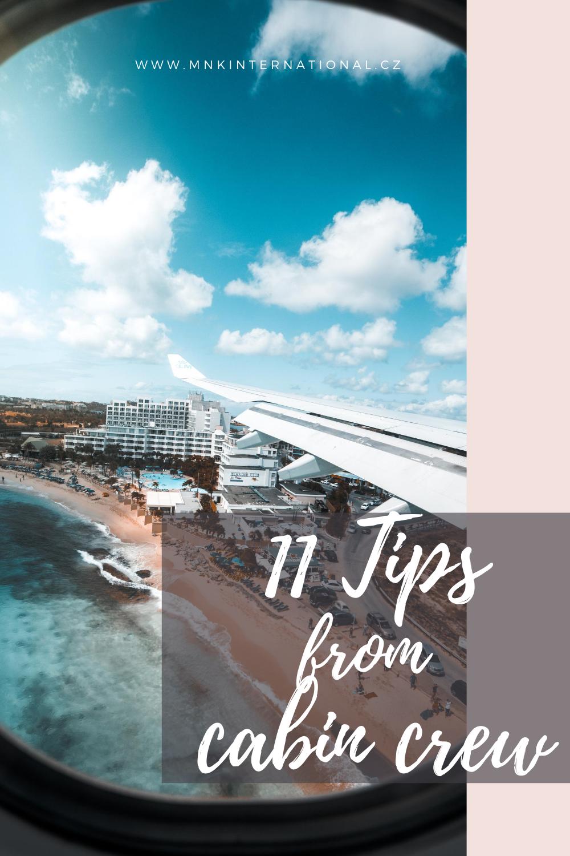 užitené tipy na cestování letadlem od letušky