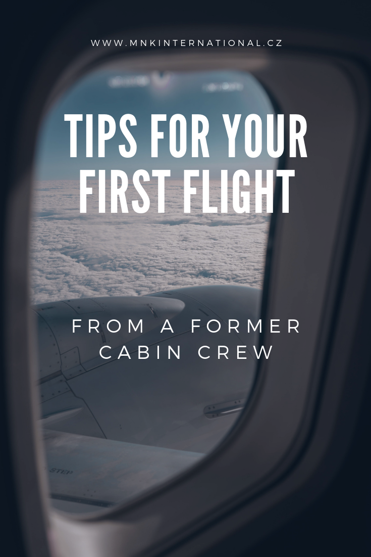 pinterest tips for first flight from a cabin crew