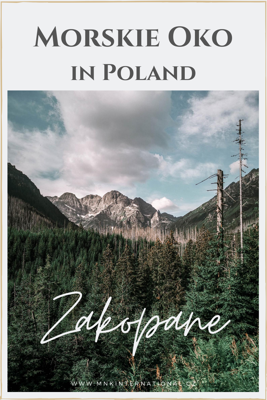 Jezero Mořské Oko v Polsku| Zakopane