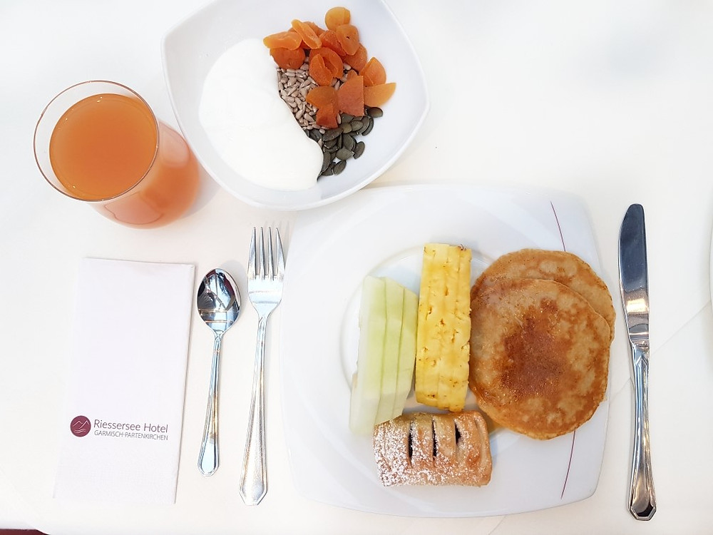 Riessersee hotel breakfast