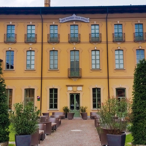 Villa Appiani (Trezzo Sull´Adda, Italy)