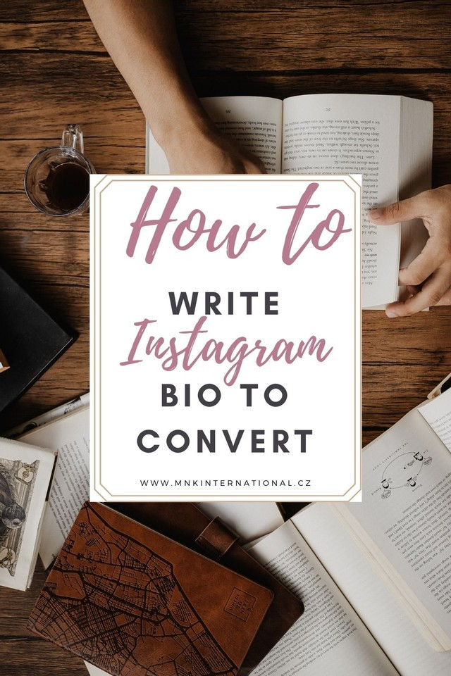 how to write instagram bio for your business inspirational photo of book reading