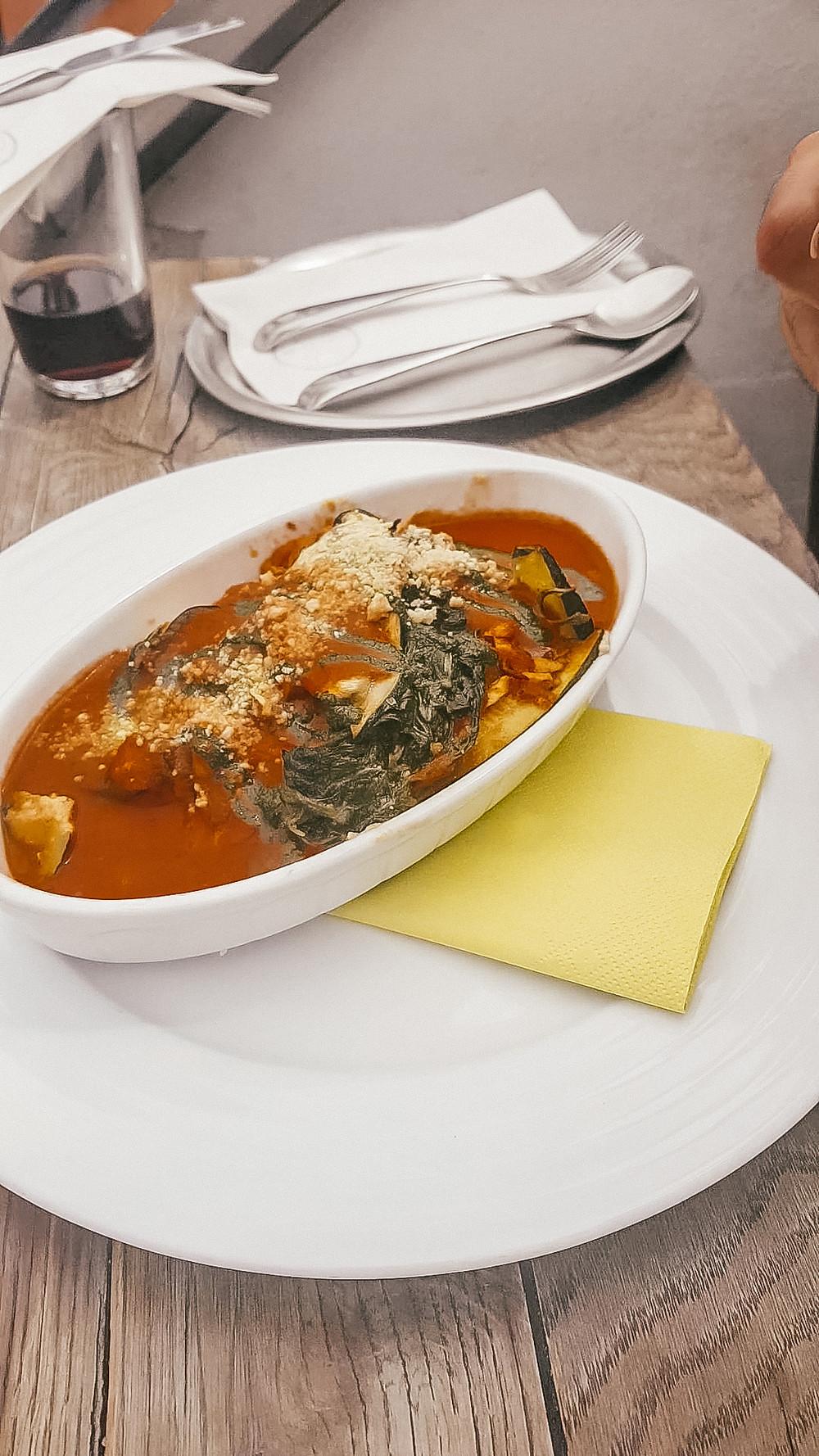 vegan zucchini lasagne