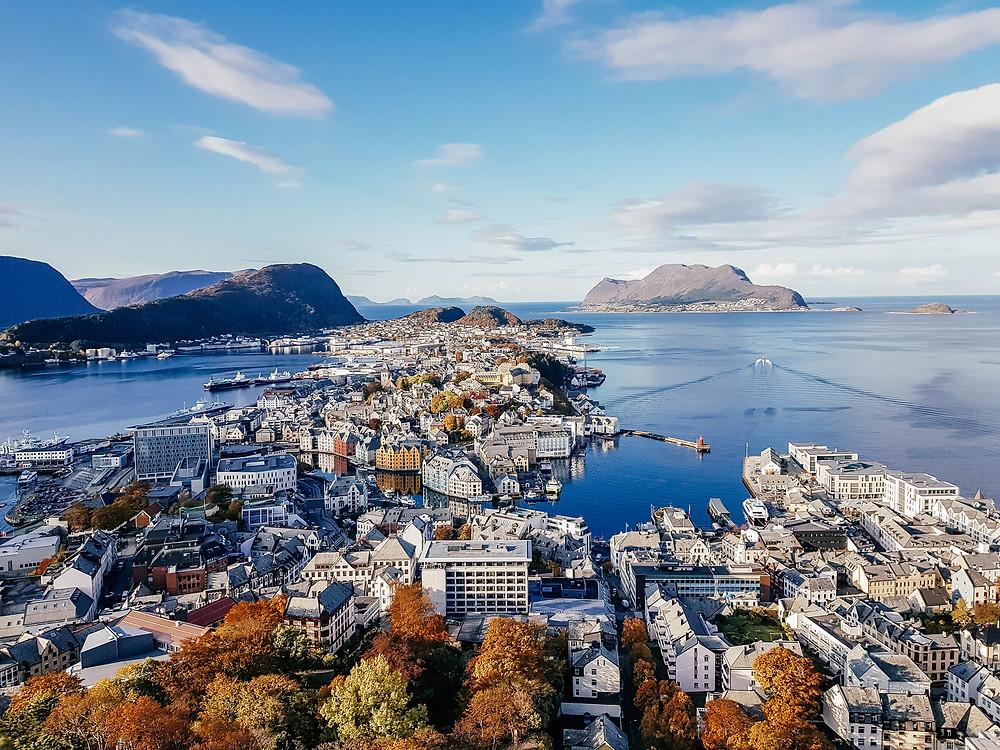 Fjellstua in alesund Norway travel guide