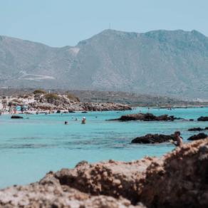 Elafonissi, The Pink Beach of Crete, Greece