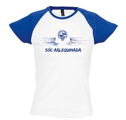 Samarreta  de Dona BICOLOR - SÓC ALERQUINADA