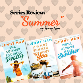 """Book Series Review: """"Summer"""" by Jenny Han"""