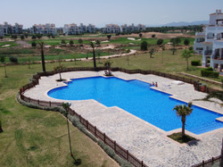 Hacienda Riquelme pool