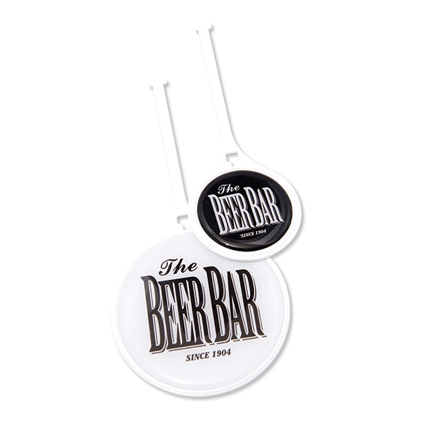 Resin Domed Flexi Bag Tags