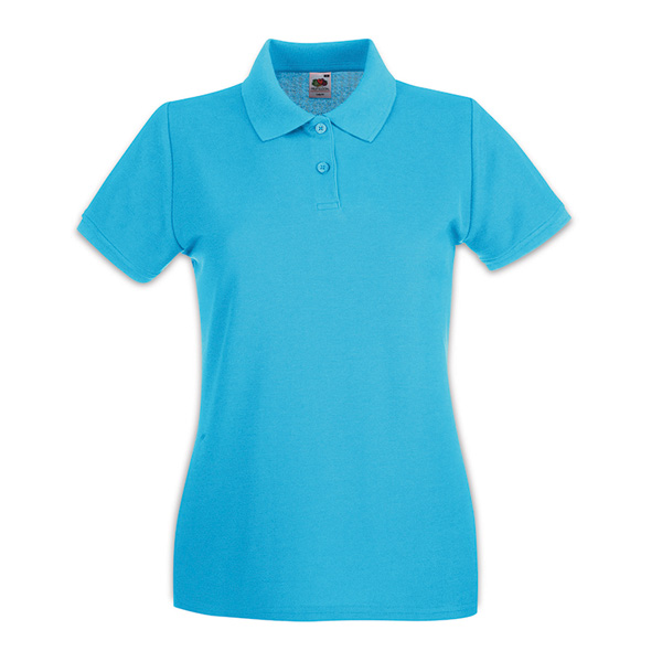 Ladies Fruit of the Loom Polo