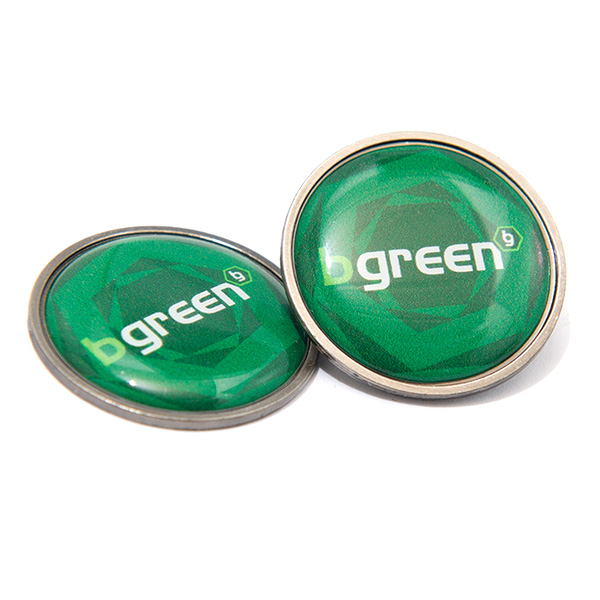 Resin Domed Ball Markers