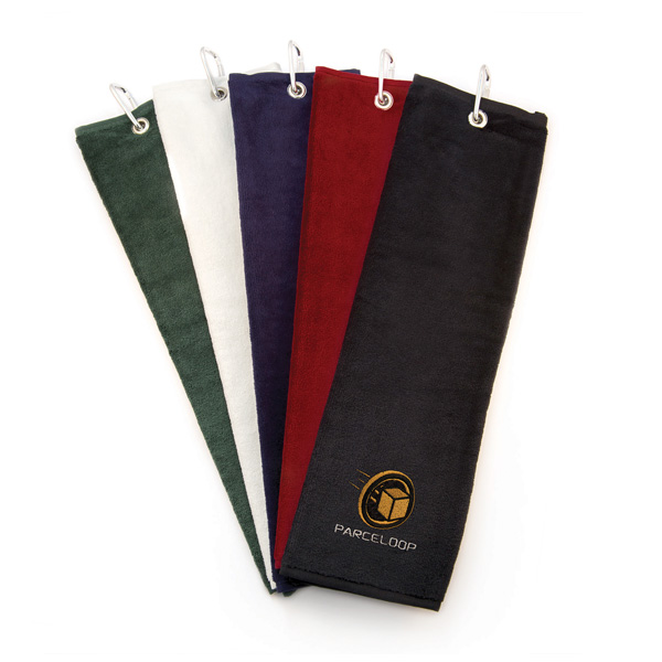 Luxury Velour Trifold Towel