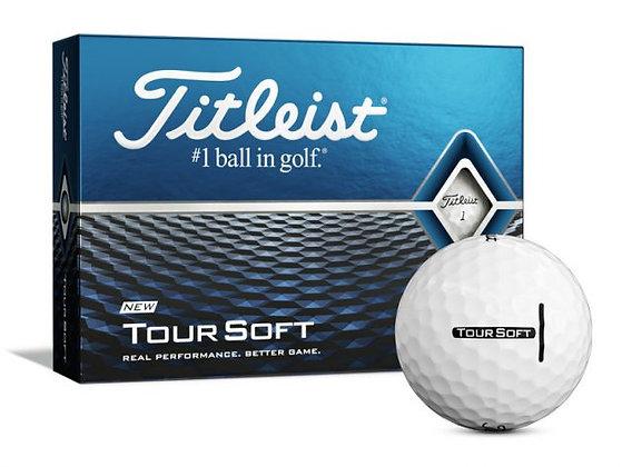 3 dozijn Titleist Tour Soft