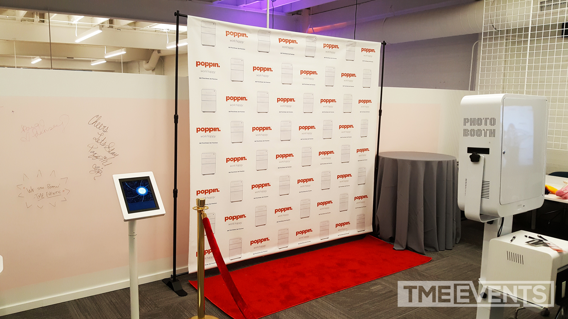 Custom Photo Booth Backdrops