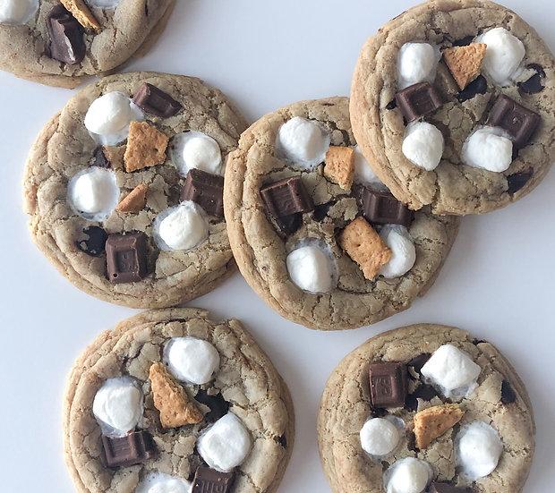One Dozen S'more Cookies