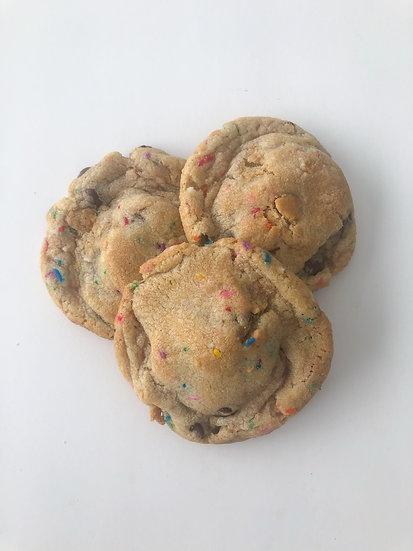 One Dozen Oreo Birthday Cake Cookies