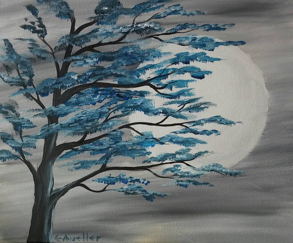 Moonlight (Acrylic)
