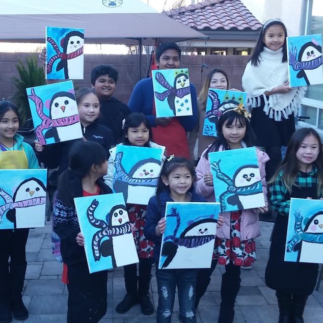 Kids Paint Parties