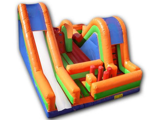 Obstacle Course Bounce Houses
