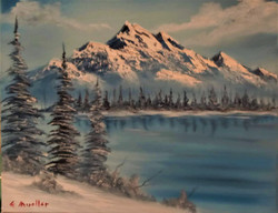 Mountain Inlet in Oil