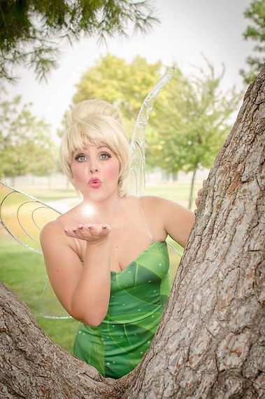 Fairy Character party visits in Las Vegas