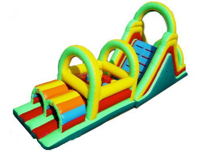 Large Obstacle Courses