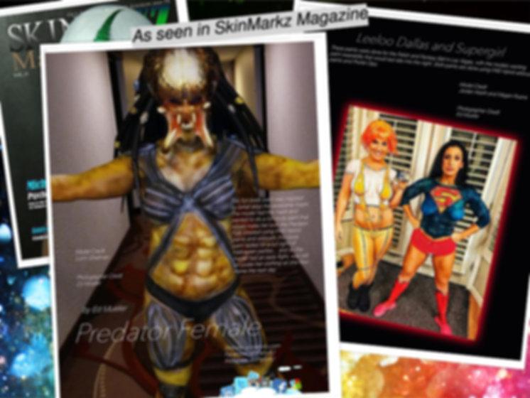 Las Vegas Body Art as seen in national publications