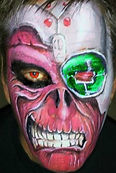 Las Vegas Face Paint and Special Effects work