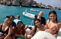 Lounging-On-Boat-At-British-Virgin-Islan