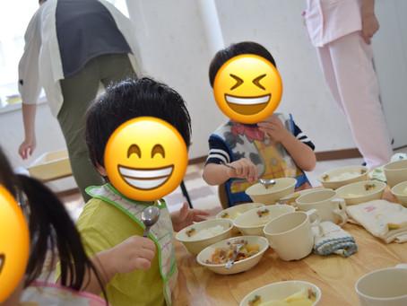 9/5 だいすきな給食❤ 福岡県 飯塚市 堀池 飯塚ママー保育園
