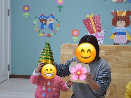 🎂12月のお誕生日会💐 福岡県 飯塚市 堀池 飯塚ママー 保育園