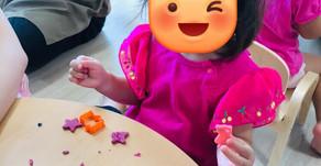 粘土遊び&マット遊び&キュウリ🥒 ~福岡県飯塚市中 幸袋らぶはーと保育園~