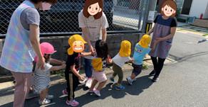 お外遊び🌞&給食🍴 ~福岡県飯塚市中 幸袋らぶはーと保育園~ 飯塚市で人気な保育園です。