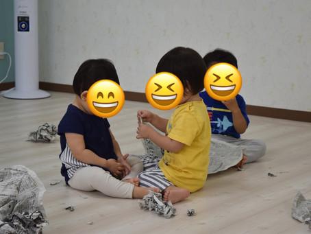 9/2 新聞ちぎり 福岡県 飯塚市 堀池 飯塚ママー保育園