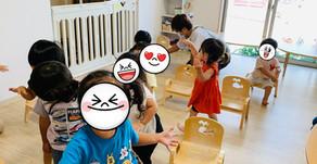 朝のお歌&プール遊び🎶 ~福岡県飯塚市中 幸袋らぶはーと保育園~