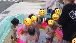 水遊び&0歳児さんの室内遊び🎈~福岡県飯塚市中 幸袋らぶはーと保育園~ 365日開園 病児保育併設