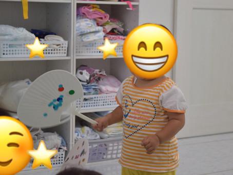 🎵楽しいお制作🎵 福岡県飯塚市堀池 飯塚ママー保育園 就職先が決まって無くても応募出来ます。