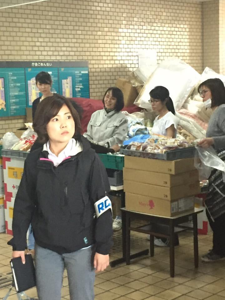 熊本被災現場 物資