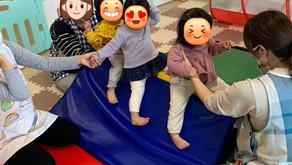 マット遊び&クリスマス🎄リース作り🎈🎇 ~福岡県飯塚市中 幸袋らぶはーと保育園~ 令和3年度園児募集中