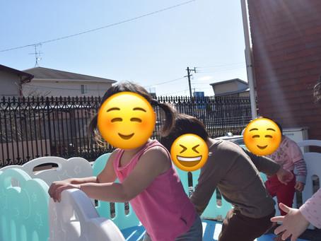 ⛸つるつる遊び🌞 福岡県 飯塚市 堀池 飯塚ママー 保育園