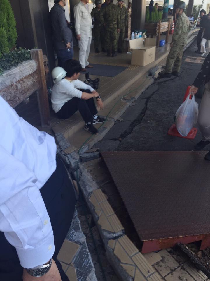 熊本地震 益城町役場 一般社団法人つなぐいのち 皆様の暖かい寄付で運営さてれいます。