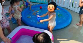 プール遊び🐋~福岡県飯塚市 幸袋らぶはーと保育園~ 待機児童を減らしたい。